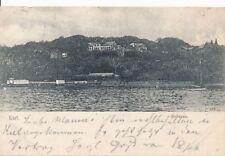 AK, Foto, Kiel - Blick auf Bellevue vom Wasser, 1903; 5026-104
