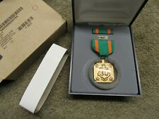 Us Navy Acheivment Medal Decoration Set Nib W/ Ribbon Lapel Pin & Medal Full siz