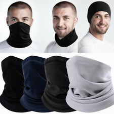 New listing Winter Fleece Thermal Neck Warmer Gaiter Cold Weather Half Face Mask Beanie Hats