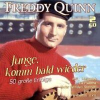 FREDDY QUINN - JUNGE,KOMM BALD WIEDER-50 GROßE ERFOGLE 2 CD NEU