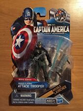 2010 Marvel Hydra Attack Trooper Captain America Action Figure MOC Sealed #15