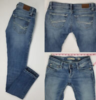 Buckle BKE Womens Stella Skinny Stretch Destroyed Ripped Jeans Size 25 x 31.5