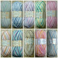 DK Baby Knitting Wool 100g Candystripe DK Yarn King Cole