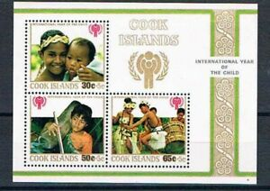 """Cook Is. - 1979 Inter Year of Child """"Hurricane Relief"""" - SC B75 [SG MS652] - MNH"""