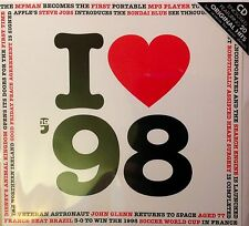 19th Birthday Gift I Love 1998 Compilation CD Greetings Card Anniversary Cards
