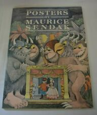POSTERS BY MAURICE SENDAK First Edition 1986 Harmony Books New York Paperback