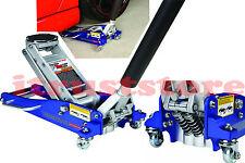 Hydraulic Racing Aluminum Floor Jack Light Weight Rapid Pump 1 12 Ton Capacity