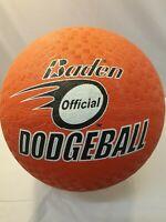 Baden Soft Rubber Red Dodgeball Ball Sizes 7 - 8.5