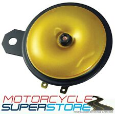 Universal fuerte reemplazo 12v Motocicleta Moto Cuerno de Oro 110db