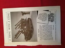 m12y ephemera 1950/s advert frog de luxe models m557 ontos