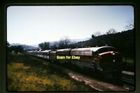 1973 Duplicate Slide of WP California Zephyr at Hearst, CA in 1970  aa 3-27a