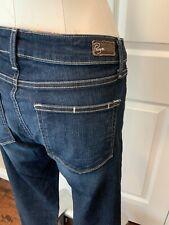 "Paige Dark Wash ""Roxie Capri"" Blue Jeans, Size 30, New! $179"