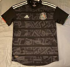 Adidas Mexico National Team On The Pitch Away Soccer Jersey Adult Size Small.