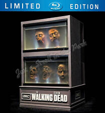 The Walking Dead Limited Edition Collectable Zombie Head Fish Tank+ Bonus BluRay