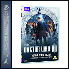 DOCTOR WHO - THE TIME OF THE DOCTOR + OTHER XMAS SPECIALS **BRAND NEW DVD **