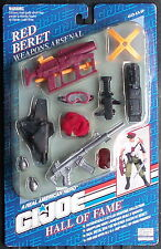 Gi joe Hall Of Fame Red Beret Weapons Arsenal 12 Inch Action Pack Made In 1993
