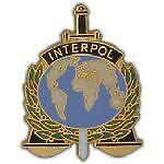 INTERPOL HAT PIN