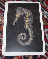 """DKNG Seahorse Art Postcard Handbill 4 X 6"""" like silkscreen poster print"""