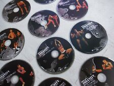 Insanity Beachbody Workout 10 Cds Full Set Pre-owned No case they All play