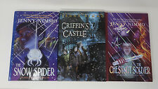 Jenny Nimmo MAGICIAN TRILOGY Snow Spider HB Griffin's Castle Chestnut Soldier