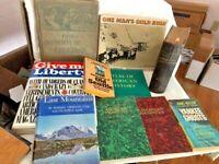 Lot of 10 Vintage/Antique American History Books - Homeschool