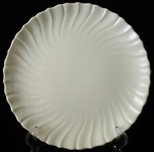"11"" Round Platter/Chop Plate Franciscan Coronado Off White Matte Swirl Ivory EUC"