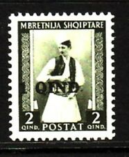 ALBANIA Sc 331 NH ISSUE OF 1942 - OVERPRINT