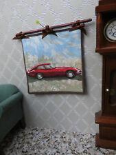 Für Herrenzimmer/f.den Automobile-Fan:WANDBEHANG-BILD-Rennwagen,Miniatur 1:12