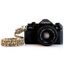 NEW CAMERA PARACORD HAND GRIP STRAP CAMOUFLAGE BEIGE DSLR LEICA SONY CANON FUJI