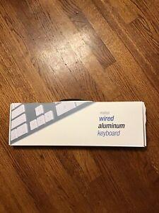 Nib Matias Wired Aluminum Keyboard Silver, FK318S