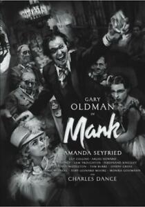 Mank - Biography Comedy Drama (2020) DVD