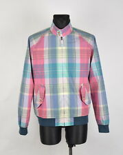 Gant Madras Multicolored Men Jacket Size L, Genuine