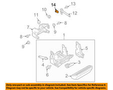 FORD OEM Running Board Step-Support Nut W520833S439