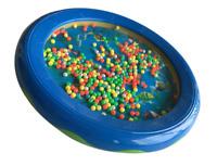 Ocean Wave Bead Drum Gentle Sea Sound Musical Educational Toy Tool for Baby UK