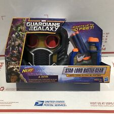 Guardians of the Galaxy Star-Lord Battle Gear Hero Mask and Nerf Mini Blaster