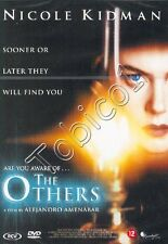 THE OTHERS - SOONER OR LATER THEY WILL FIND YOU - NICOLE KIDMAN - DVD SEALED