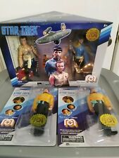 Mego Star Trek Figure Set Kirk & Spock + 2 Chekov NEW Target Exclusive SOLD OUT