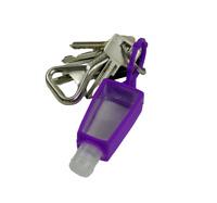 4x Desinfektionsmittelspender Unterwegs / Hand Sanitizer Holder + Flasche