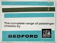 1963 Bedford Complete Range of Passenger Chassis - Bus Coach Sales Brochure