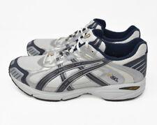 0abbe253a9ed Asics Men s Sz 13 EU 48 White Blue Athletic Running Hiking Trail Shoes TN626