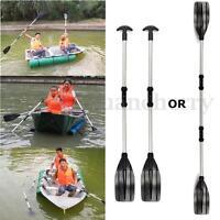 2PCS 133cm Aluminum Detachable Float Afloat Oars Paddles Boat Kayak Raft Canoe