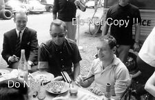 Willy Mairesse & Phil Hill Ferrari F1 Portrait French Grand Prix 1962 Photograph