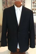 Nordstrom Mens Black Loro Piana 100% Cashmere Blazer Jacket Sz 40 41 42 R MINT!