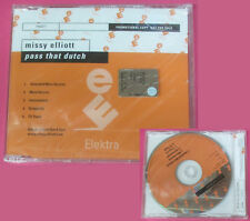 CD Singolo MISSY ELLIOTT Pass that dutch PROMO SEALED ELEKTRA no lp mc dvd (S9)
