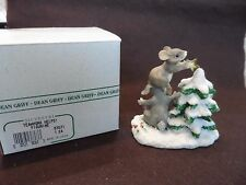 """Charming Tails Figurine by Den Griff - """"Teamwork Helps"""" 87571"""