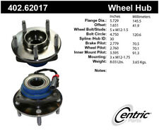 Axle Bearing and Hub Assembly-Premium Hubs Rear Centric 402.62017
