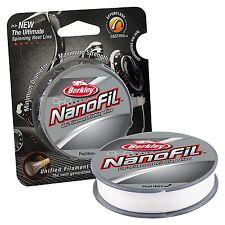 BERKLEY NANOFIL 10lb 150yds uni-filament line - CLEAR MIST + Free postage