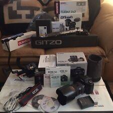 Canon EOS 5D EF 24-70mm f/2.8L USM Pixma 9500 Quantom Flash Gitzo CB Bracket