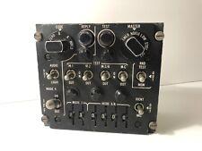 Us Military Aircraft Radio Iff Transponder Control Panel C-6280 (P) Apx