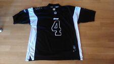 NFL Minnesota Vikings Reebok #4 Faver trikot/jersey schwarz/black Größe 50/L